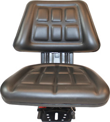 Black Ford / New Holland 3000 3600 3610 3900 Triback Tractor Suspension Seat