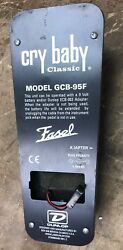 Dunlop GCB95f Cry Baby Original Wah Guitar Effects Pedal Footswitch