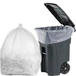 Plasticmill 100 Gallon, 1.3 Mil, 67x79, Garbage Bag / Trash Can Liner.