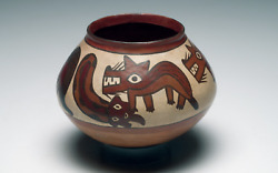 Published Nazca Decorated Olla From M. Sackler Collections Ca. 250 B.c. - 125ad