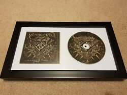 Machine Head Bloodstone And Diamonds Signed Autograph Framed Cd Robb Flynn+3 D