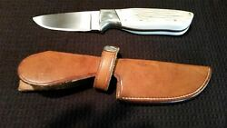 Custom A.t.barr Rare Exotic Bark Handle Knife Donand039t You Buy No Ugly Knife