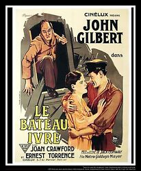 TWELVE MILES ABOUT On Linen 4x6 ft French Grande Movie Poster Original 1927