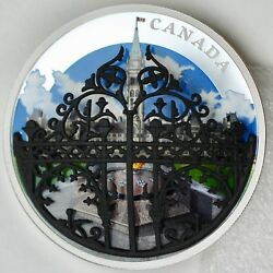 2018 30 The Queenand039s Gate Formal Entrance To Parliament Hill 2 Oz Pure Silver