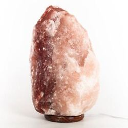 337 Pound Authentic Himalayan Salt Lamp Massive Air Ionizer One Of A Kind New