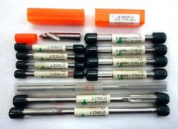 Lot Of 11 Misc. Sct Special Carbide Tools Chucking Reamers And 1 Micro 100 Bit