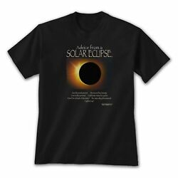 Advice From A Solar Eclipse T-Shirt Totality Phenomenal