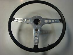 191522000 Jaguar Series 1 And 2 Xke Leather Covered Steering Wheel And Boss