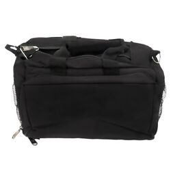 Bulldog Cases Black Shooting Range Bag Deluxe wStrap