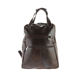 Piel Leather Women's   Vintage Laptop Carry-AllConvertible Backpack 3050