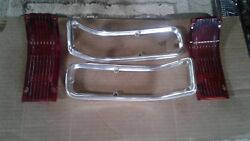 1960and039s 1966 Chevrolet Parts Chevelle Tail Lights Original Oem Vintage