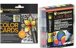 NEW - Chameleon - Primary Tones 5-Pen Set and ZEN color cards (16 pc)