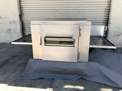 Lincoln Impinger 1040 natural gas single deck pizza oven