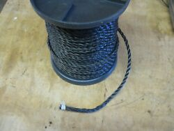 Military Truck Trailer M35a2 M923 M101/105 Cargo Cover Rope 3/8 Black 260' Roll