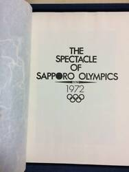 Olympic Games Sapporo 1972 Japan Official Japanese Book Olympics Photo Sports