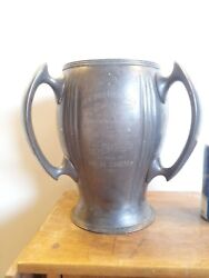 Extremely Rare . Large 1905 New York Motor Club Automotive Trophy