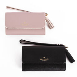 NWT Kate Spade Chester Street Leather iphone 66s7 Wristlet ID Card Phone Case