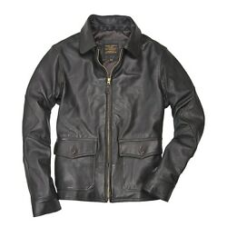 Cockpit Usa Type 440 Usn Carrier Menand039s Leather Jacket Usa Made Z2111m