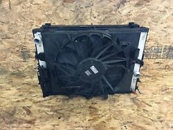 Bmw 2006-2008 E65 E66 Front Radiator Cooling Ac Condenser Fan Assembly Oem 104k