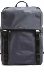 "NWT TUMI  Women Voyageur Sacha Flap Backpack Design Safe Grey Office 15"" Laptop"