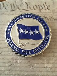 General Phil Breedlove 35th Usafe Commander Air Forces In Europe Challenge Coin