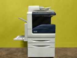 Xerox Workcentre 7556 Laser Color Bw Printer Scanner Copier 55ppm A3 Mfp 7545