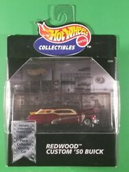 Hot Wheels Collectibles - Redwood Custom And03950 Brick Red