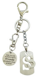 AM Landen Super Cute Letter S Key chain Best Gift Keychain to Your Love  $7.99