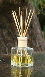 White Jasmine And English Ivy Diffuser Aroma Reeds In A Heavy Glass Jar Home Scent