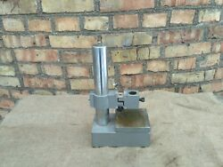 Indicator Micrometer Stand Vertical Optimeter Or Microscope Stand Vintage