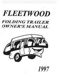 Coleman Fleetwood Popup Camper Owners Manuals Parts Accessory Media Collection