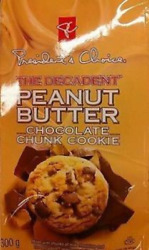 Presidents Choice The Decadent Peanut Butter Chocolate Chunk Cookie 6 Bags