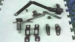 1981 1989 Chevy Truck Parts Tailgate Hinges And Brackets Vintage Original