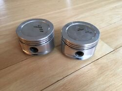 Pair Of Nos Pontiac Super Duty Sd4 Je Pistons For 4 Cylinder Fiero Motor Qty 2