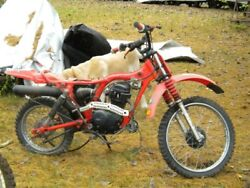 83 Honda Xr100 Engine No Head Only Usa Sales Only No Carb/intake/head/exhaust
