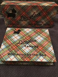 Two Scottie Dog Candy Boxes Douglass Candy Plaid Boxes