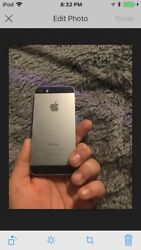 Apple Iphone 5s - 64gb - Space Gray Atandt A1533 Gsm Perfect Condition