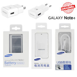 Original EB-BN910BBE Samsung Galaxy Note 4 N910A Battery Charger Cable Adapter