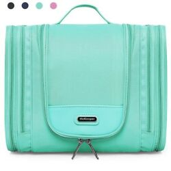 Heavy Duty Waterproof Hanging Toiletry Bag - Travel Cosmetic Makeup Bag for Wome