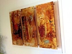 Original Large Michelle Y Williams Abstract / Modern Oil Painting On Acrylic