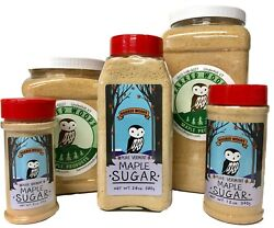 Maple Sugar - Made From Pure Vermont Maple Syrup - Free Shipping