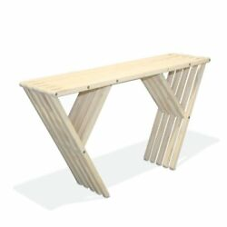 GloDea Xquare X60 Outdoor Wooden Console Table
