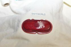 Red Glass Lens Ford Chevy Plymouth Old 1930and039s 1940and039s Tail Stop Lamp Light Usa