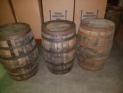Whiskey Barrel Used Whisky Keg 53 Gallon Oak Wood Local Pick Up Only