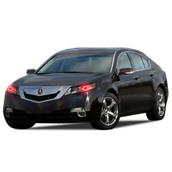 Led Headlight Halo Ring Rgb Colorfuse Kit For Acura Tl 09-14