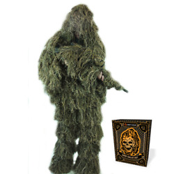 Arcturus Ghost Ghillie Suit | Super-dense Hunting Camo In Woodland And Dry Grass
