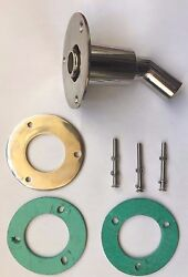 Stainless Steel Marine Skin Fitting 22mm Suitable For Webasto/espar Heaters