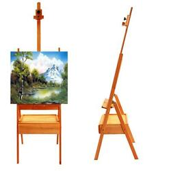 Durable French Easel Stand Wooden Sketch Box Portable w Dispaly Artist Painters $38.69
