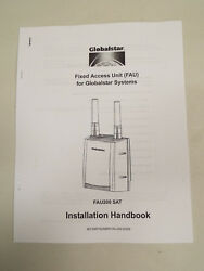 Owners Instruction Manual Globalstar Fau200sat Fixed Access Unit Satellite Phone