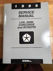 1999 Service Manual LHS 300M Concord Intrepid 81-270-9140